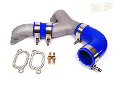 Impreza WRX STi 2002-2006 Hard Y-Pipe for Top Mount Intercooler TMIC Y Pipe Blue