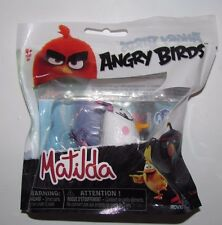 SPIN MASTER ANGRY BIRDS MOVIE MATILDA COLLECTIBLE MINI VINYL PVC FIGURE NEW