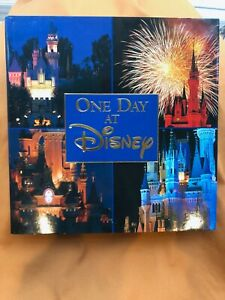 One Day at Disney first edition hardback book