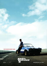 FAST AND FURIOUS 6 - Orig.KinoPlakat A1 - Teasermotiv - Paul Walker
