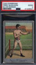 T220 Champions Terry McGovern Silver Border Boxing PSA 2 *687273
