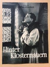 Hinter Klostermauern (BFK 1021, 1928) - Karl Neubert / Stummfilm