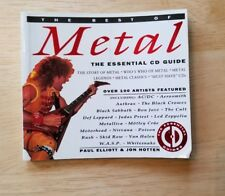 The Best Of Heavy Metal Essential CD Guide book Sammy Hagar Metallica Poison htf