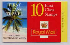 Gb 1997 10 x 1st Class Royal Golden Wedding Barcode Booklet Hd43