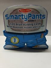 Melissa & Doug Smarty Pants First 1st Grade Educational Game Cards Puzzles Games