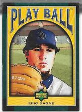 2004 Playball - ERIC GAGNE - Green Parallel SSP #41 - DODGERS #d 03/15