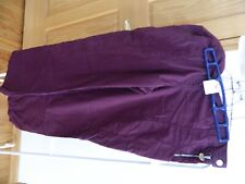 Women's Koi by Kathy Peterson wine scrub pants style 709 w/side zip/snap size Xl