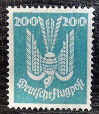 Deutsches Reich Mi 349 (*) Neugummi , Flugpostmarken: Holztaube , BPP geprüft