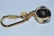 Paul Smith Gold Black 3d Football Metal Keyring