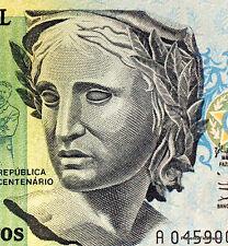 BRESIL billet neuf de 200 CRUZEIROS huile  PATRIA de P. BRUNO Pick229 1990