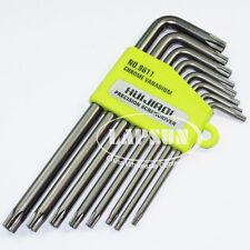 TORX CRV Screwdriver Set T9 T10 T15 T20 T25 T27 T30 T40 Star Wrench Tool 9611 AU
