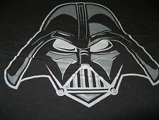 Star Wars Darth Vader Helmet Short Sleeve T-Shirt, NEW UNWORN Adult L Black