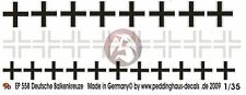 Peddinghaus 1/35 Balkenkreuz (Iron Cross) for German Armor WWII (3 types) EP558
