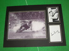 "Sir Tom Finney firmato iconico Preston NORTH End FC PNE ""SPLASH"" Mount"