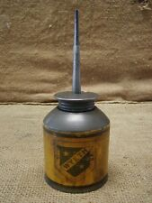 Vintage Wyeth Shield Oil Can > Antique Oiler Tractor Hardware Store RARE 6470