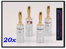 20x Nakamichi High End SPINA A BANANA ( 20 Stk ROSSO E NERO