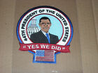 """AWESOME BARACK OBAMA 44TH PRESIDENT OF THE UNITED STATES PATCH """"YES WE DID"""" 5"""""""