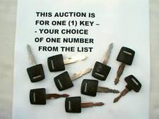 Honda NOS ignition key CB 750 K CB 550 K GL 1000 CB750 Gold Wing 1975 - 1978