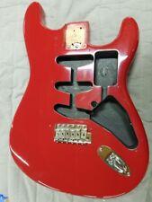 Fender Torino Red Stratocaster Artist Model Eric Clapton Guitar Body 2006