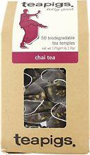 Teapigs Chai Tea Temples - 50 Bags - Pack of 2
