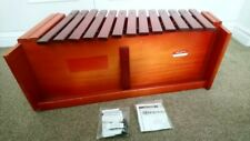 More details for  percussion plus classic red box diatonic bass xylophone (pp027)