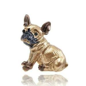 French Bulldog Brooch Lapel Pin Badge Trendy Fashion Enamel Dog Great Gift