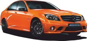 CARS Sport für Kinder Zimmer MERCEDES AMG Dekorwandaufkleber Aufkleber