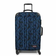 Eastpak Tranzshell M 4 Wheels Trolley Suitcase Lagguage 67 Cm (leaves Blue)