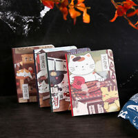 """""""Japanese Cat ver4"""" 1pc Cute Monthly Planner Notebook Study Journal Diary Memo"""
