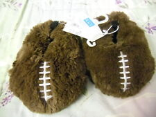 Nwt New Tcp The Children'S Place Infant Toddler Boys Football Slippers Brown