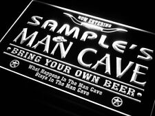 Personalised Custom Man Cave Beer Bar Neon Light Sign