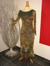 NEUVE ** Magnifique robe longue mousseline superposé