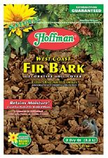 (10) bags Hoffman 14552 2 Quart West Coast Fir Bark Potted Plant Soil Covering