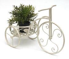 Support de Plantes Sous Forme de Vélo Style Vintage avec 3 Pot Jardin Décor D3G8