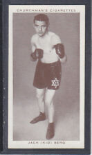 Churchman - Boxing Personalities 1938 - # 4 Jack (Kid) Berg