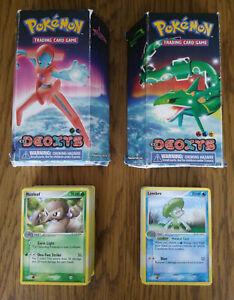 Pokémon EX Deoxys Starcharge + Jetstream Theme Decks TCG *INCLUDES CARDS*