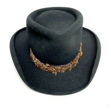 Texas Hatter Hi-Roller Hat Mens Size 6 7/8 Small Custom Handmade USA Cowboy