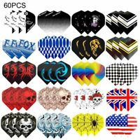 New Dart Flights Multiple Styles Colorful Darts Flights Newly Accessories Sets
