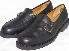 MEN SHOES LOAFERS CHAPS Size 11.5M Black Leather