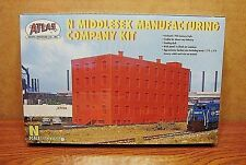 ATLAS N SCALE MIDDLESEX MANUFACTURING COMPANY BUILDING KIT