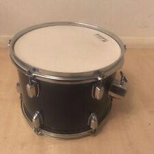 "More details for tom drum for drum kit dark blue 12"" x 9"" aquarian batter head free uk p&p"