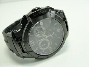 TISSOT T-RACE BLACK CHRONOGRAPH HERRENUHR Armbanduhr 44mm in Box Swiss