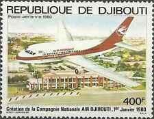 Timbre Avions Djibouti PA140 ** lot 3991