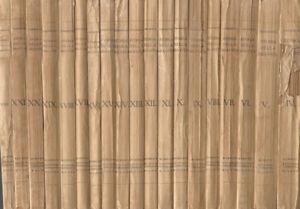 Storia della mia vita (19 Voll.). . Giacomo Casanova. 1925, 1926. I ED..