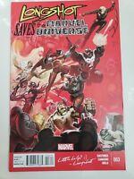 LONGSHOT SAVES THE MARVEL UNIVERSE #3 (2014) MARVEL COMICS VENOM! SPIDER-MAN!
