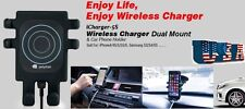 Qi Wireless Car Charger Mount Holder Dock for Samsung Galaxy S6...