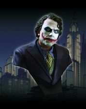 DARK KNIGHT~THE JOKER / HEATH LEDGER~1/2 SCALE~BUST~LE 2500~DC DIRECT~MIB