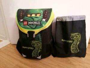 Lego Schulranzen Ranzen Schultasche Ninjago Grün Lloyd