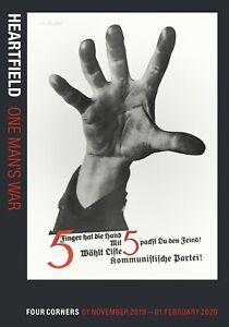 Heartfield: One Man's War Exhibition Catalogue, Art History, Photomontage Artist