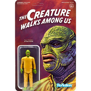 creature walks among us reation action figure super 7